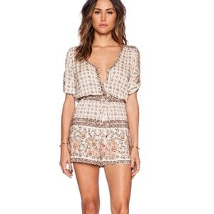 SPELL & GYPSY COLLECTIVE Desert Rose Playsuit